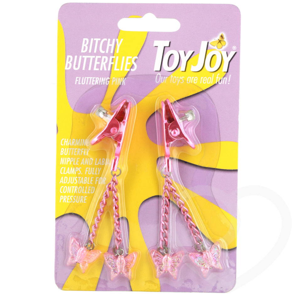 Toy Joy Bitchy Butterfly Nipple Clamps