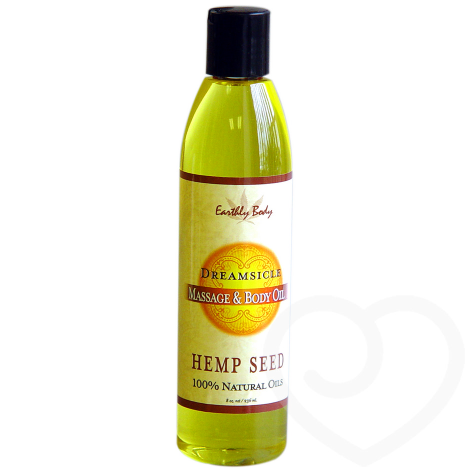Earthly Body Dreamsicle Massage Oil 236ml