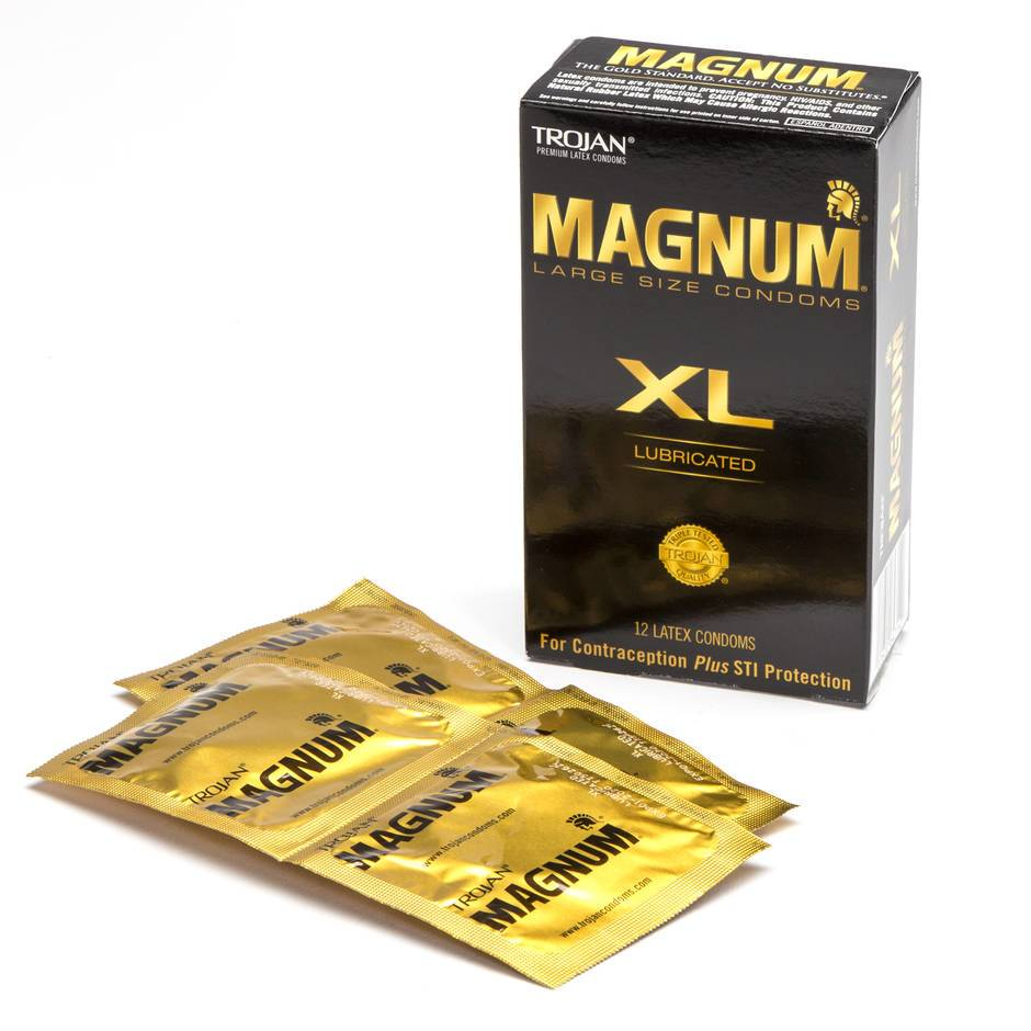 trojan magnum xl condoms 12 pack lovehoney