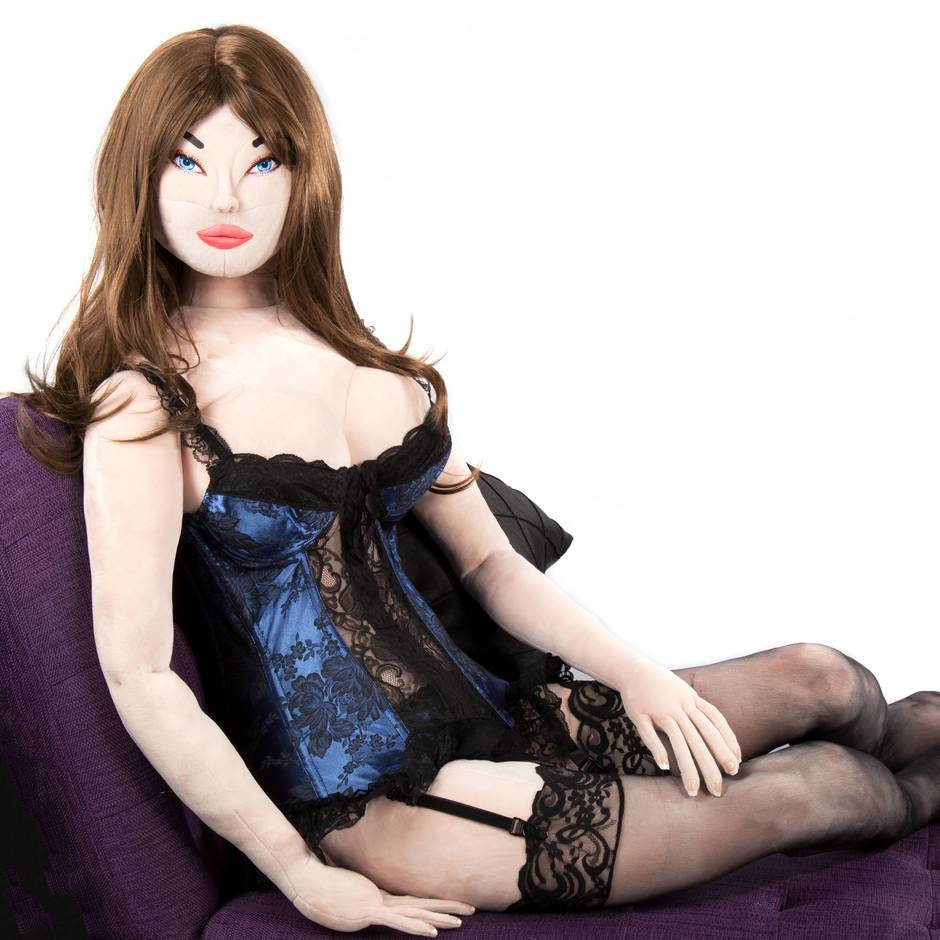 Deluxe Teddy Babe Plush Sex Doll Carly (Long Copper)