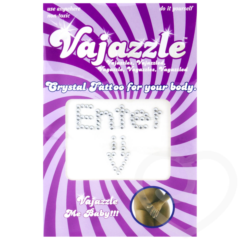 Vajazzle Enter Body Tattoo