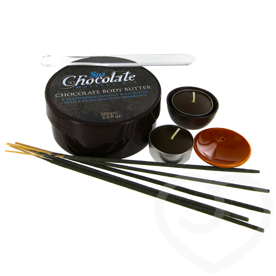 Chocolate Massage Body Butter Erotic Gift Set