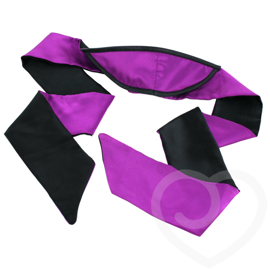 Lovehoney Tease Me Soft Satin Blackout Blindfold