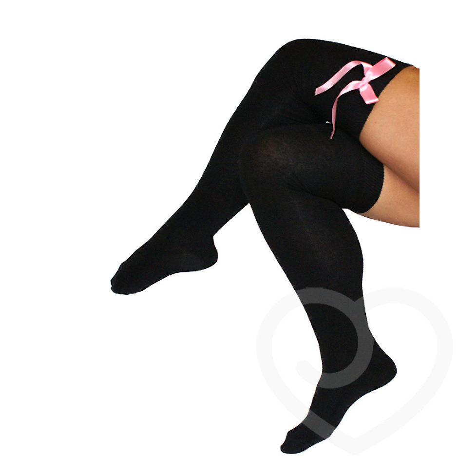 Bluebella Over the Knee Socks with Satin Bows