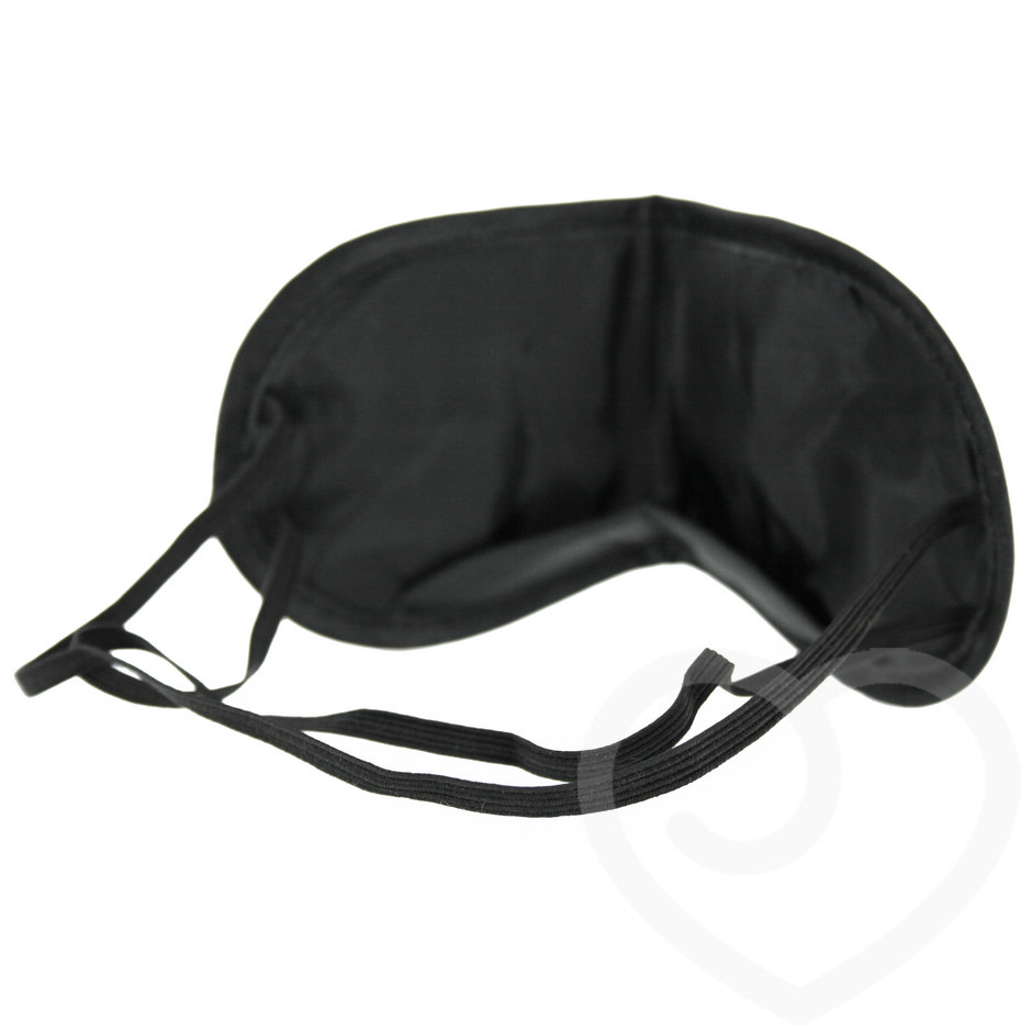 Padded Blindfold Eye Mask with Nose Bridge