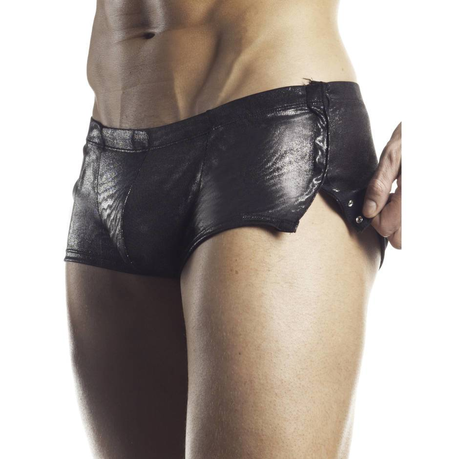 Fantasy Excite Gun Metal Tight Boxer Shorts