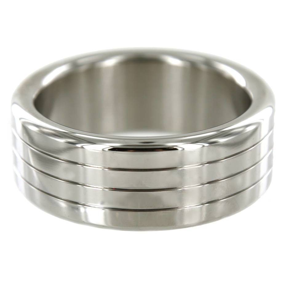 Stainless Steel 2 Inch Mega Wide Banded Cock Ring