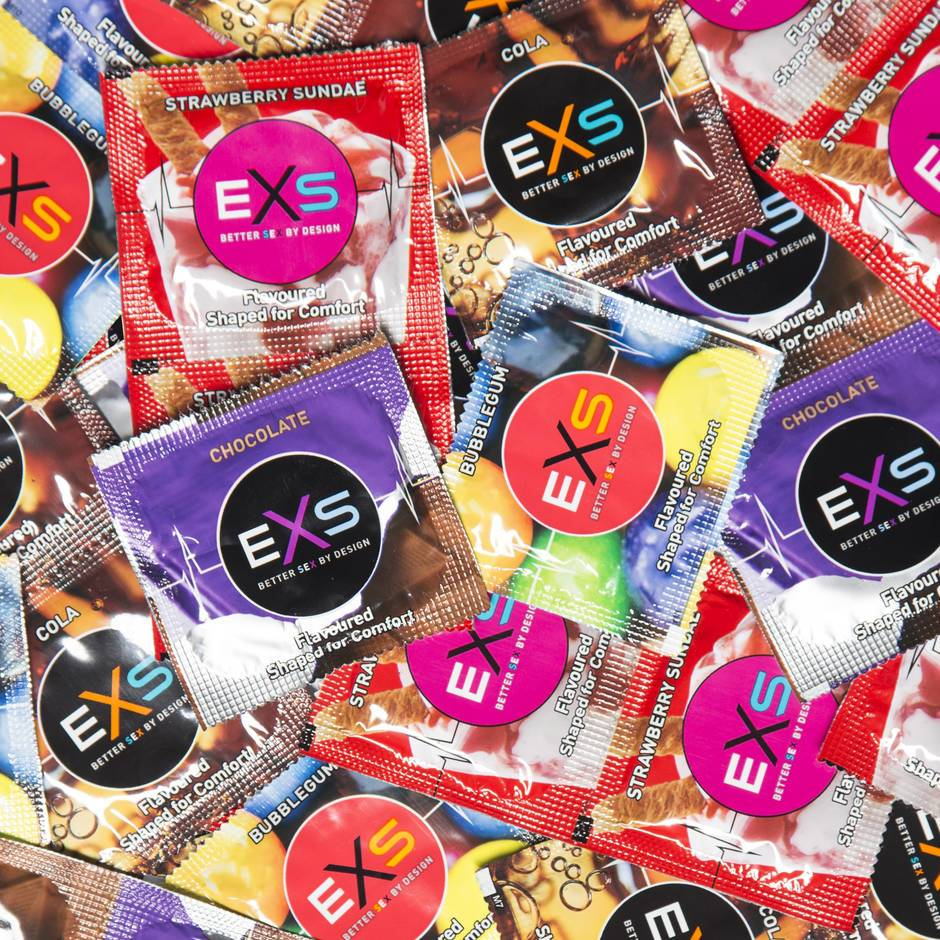EXS Mixed Flavoured Condoms (144 Count)