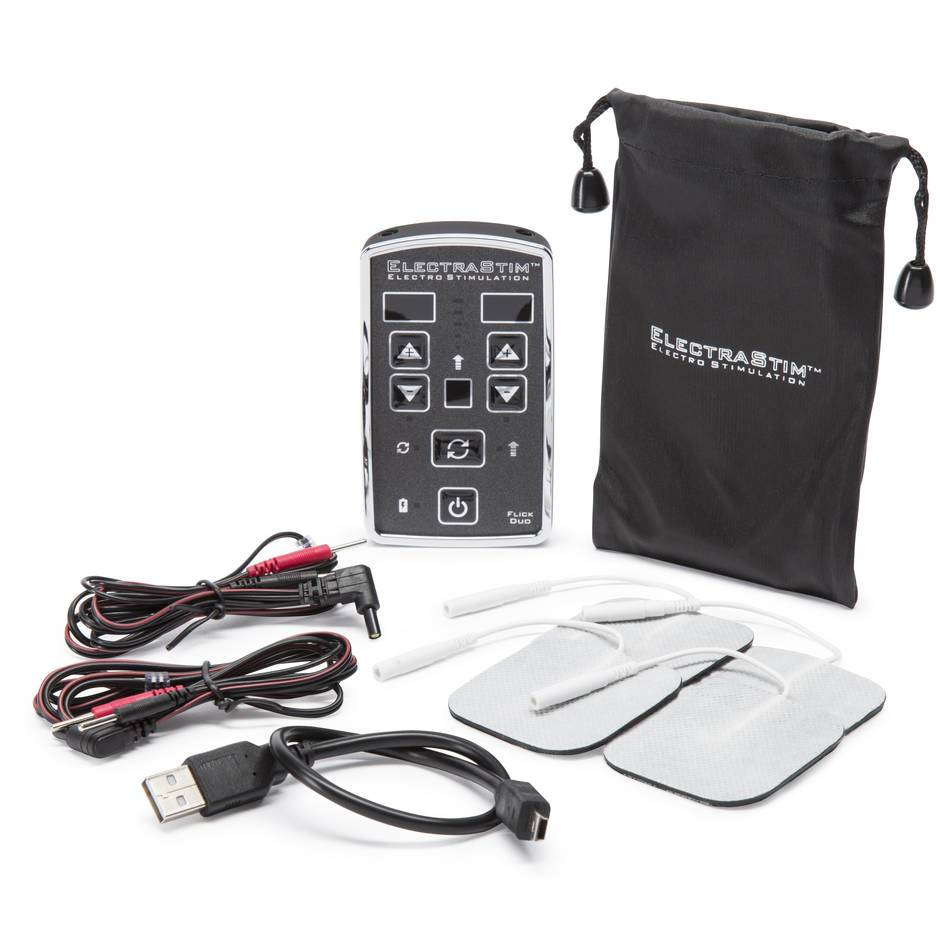 ElectraStim EM80-E Flick Duo Dual Channel Rechargeable Electro Sex Kit