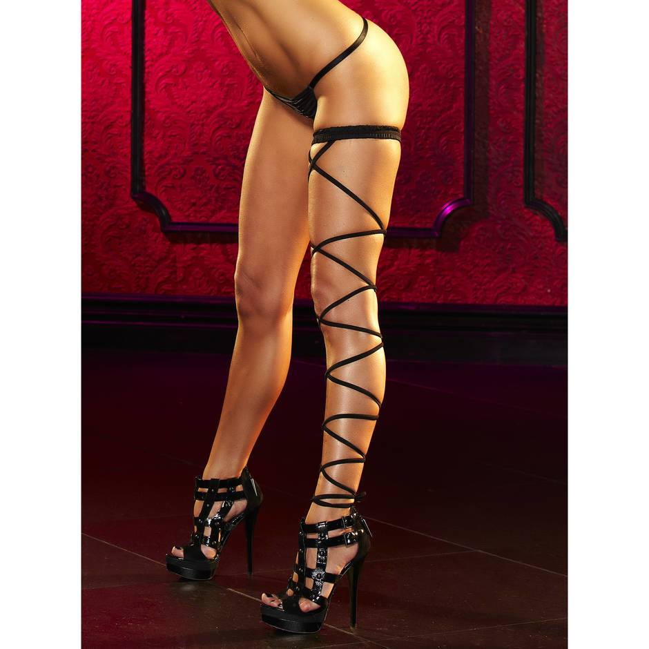 Lapdance Lace Up Sexy Garter