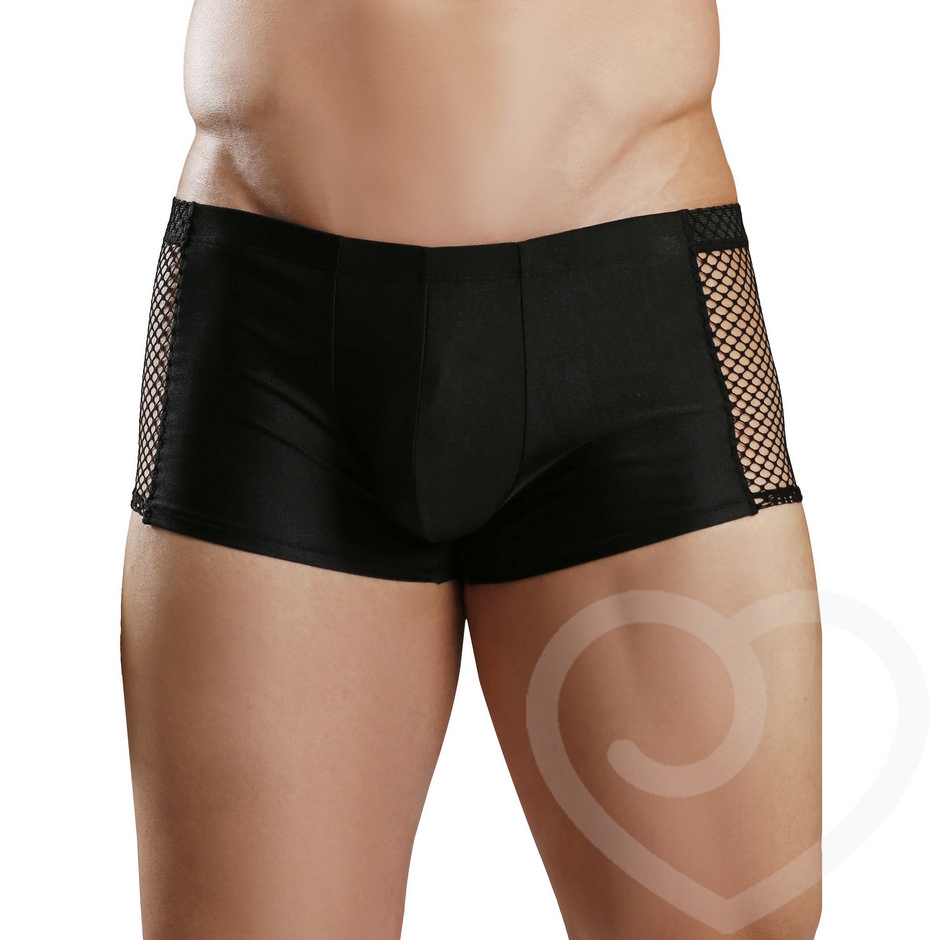 Fantasy Excite Fishnet Tight Boxer Briefs