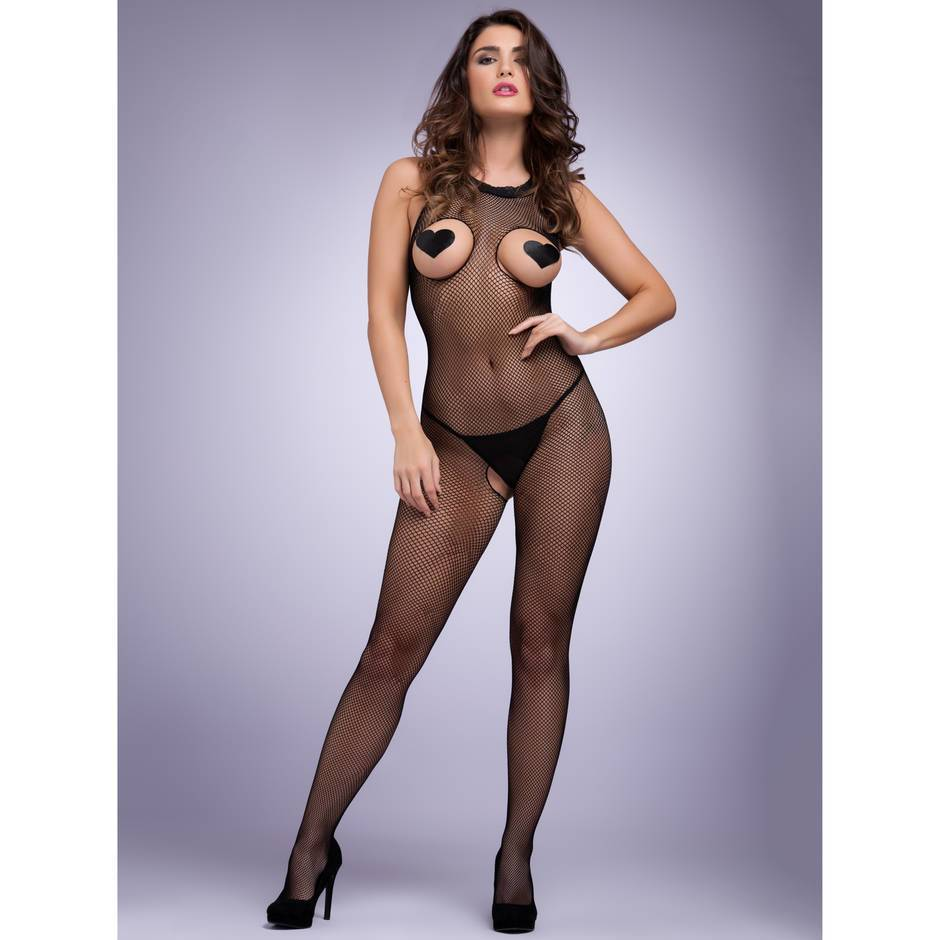Lovehoney Fishnet Open Cup Crotchless Bodystocking