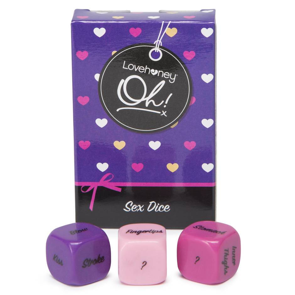 Lovehoney Oh! Roll Play Foreplay Dice (3 Pack)