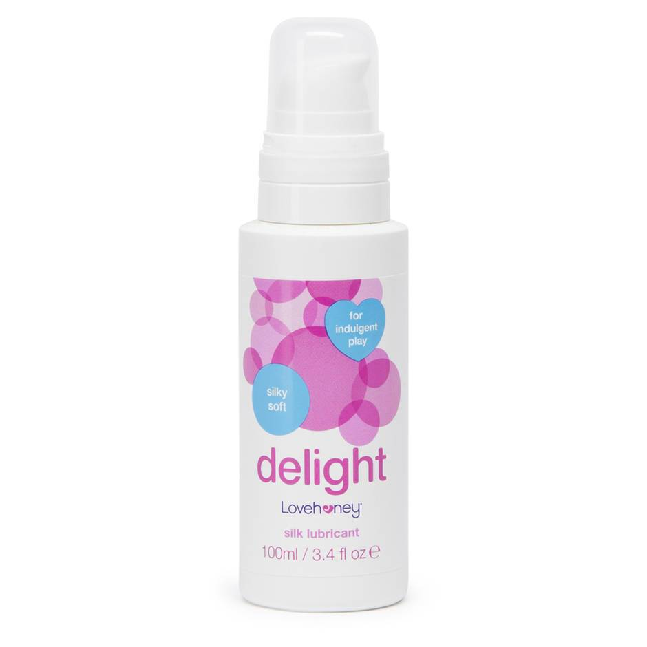 Lovehoney Delight Extra Silky Water-Based Lubricant 100ml