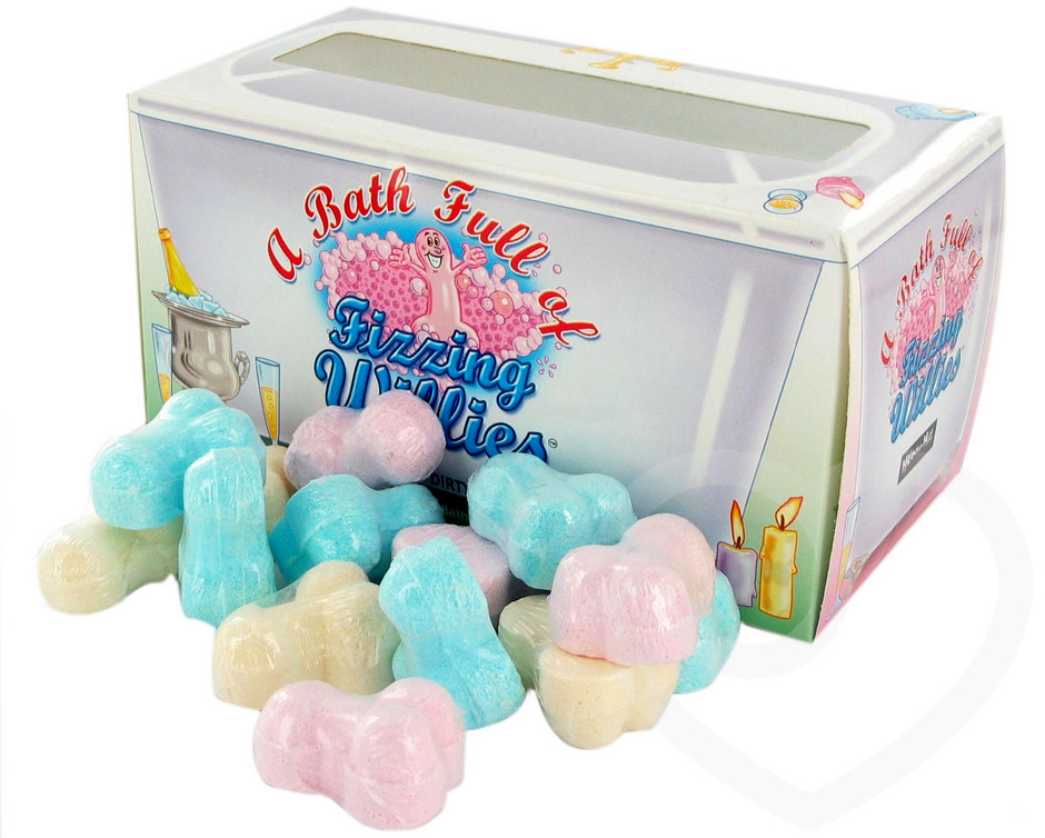 A Bath of Fizzing Willies