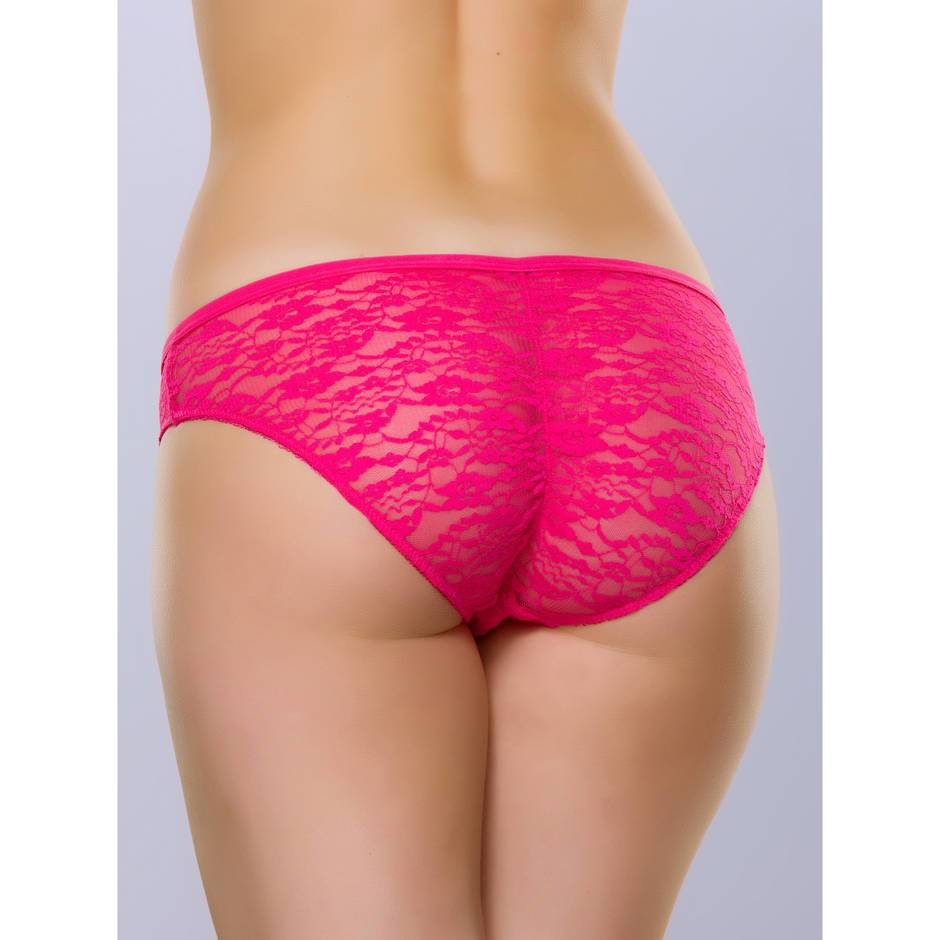Lovehoney Flirty Pink Lace Brief