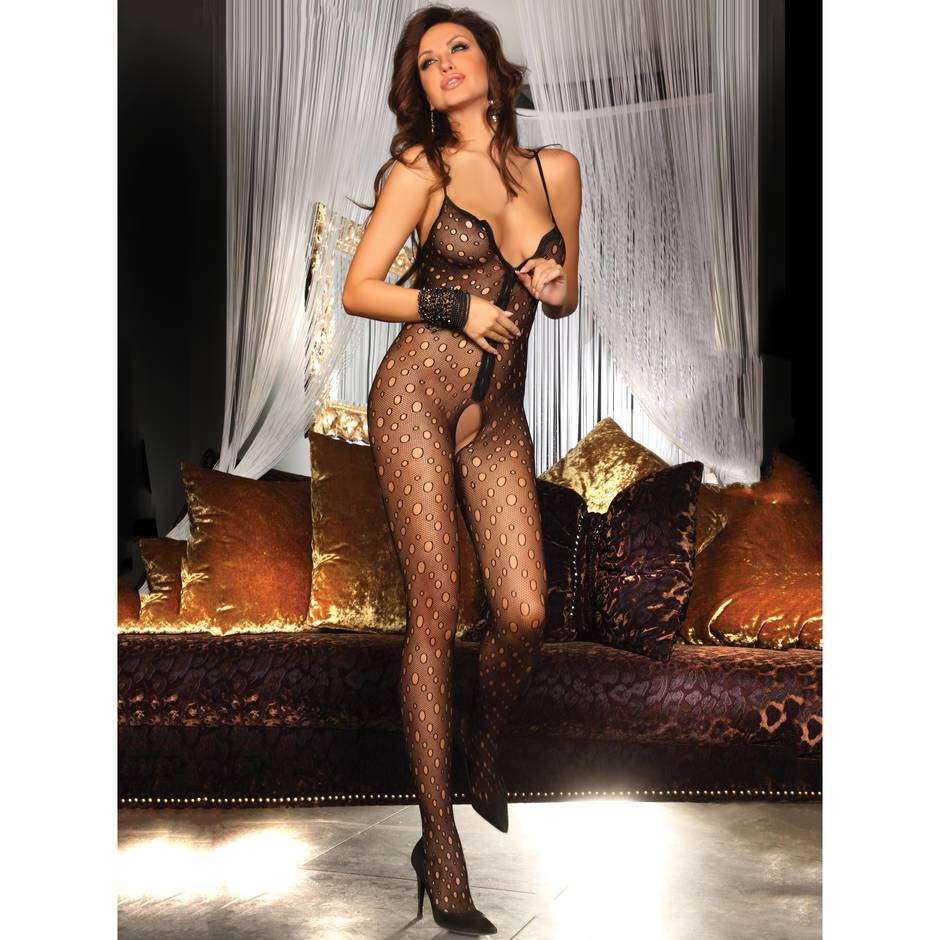 Livia Corsetti Zip Front Crotchless Bodystocking