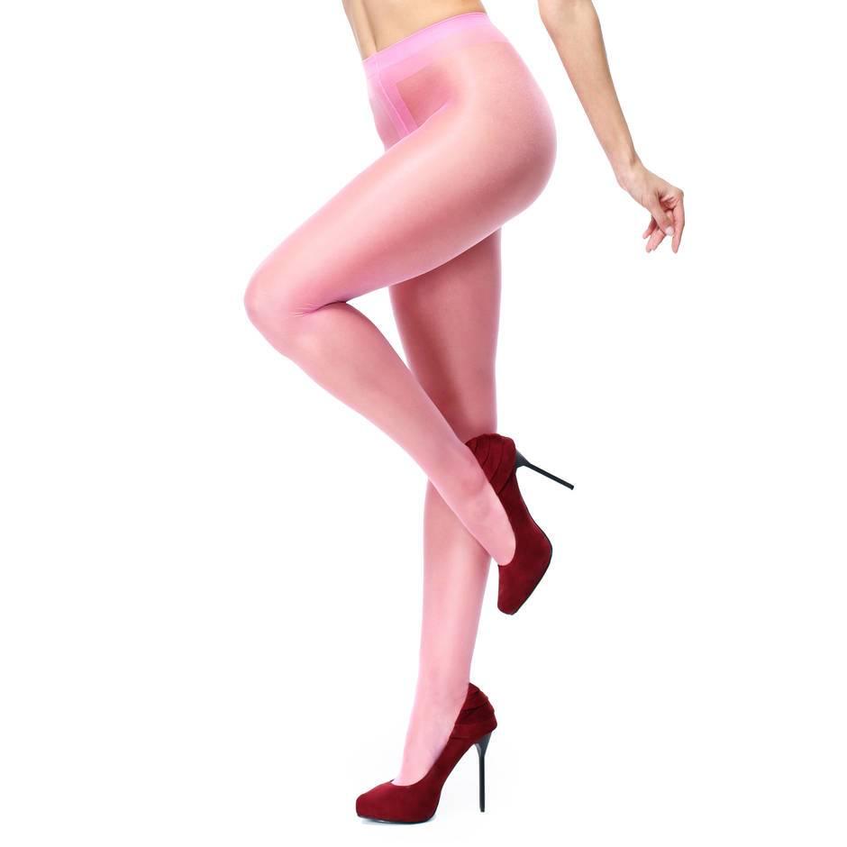Belle Pink net pantyhose