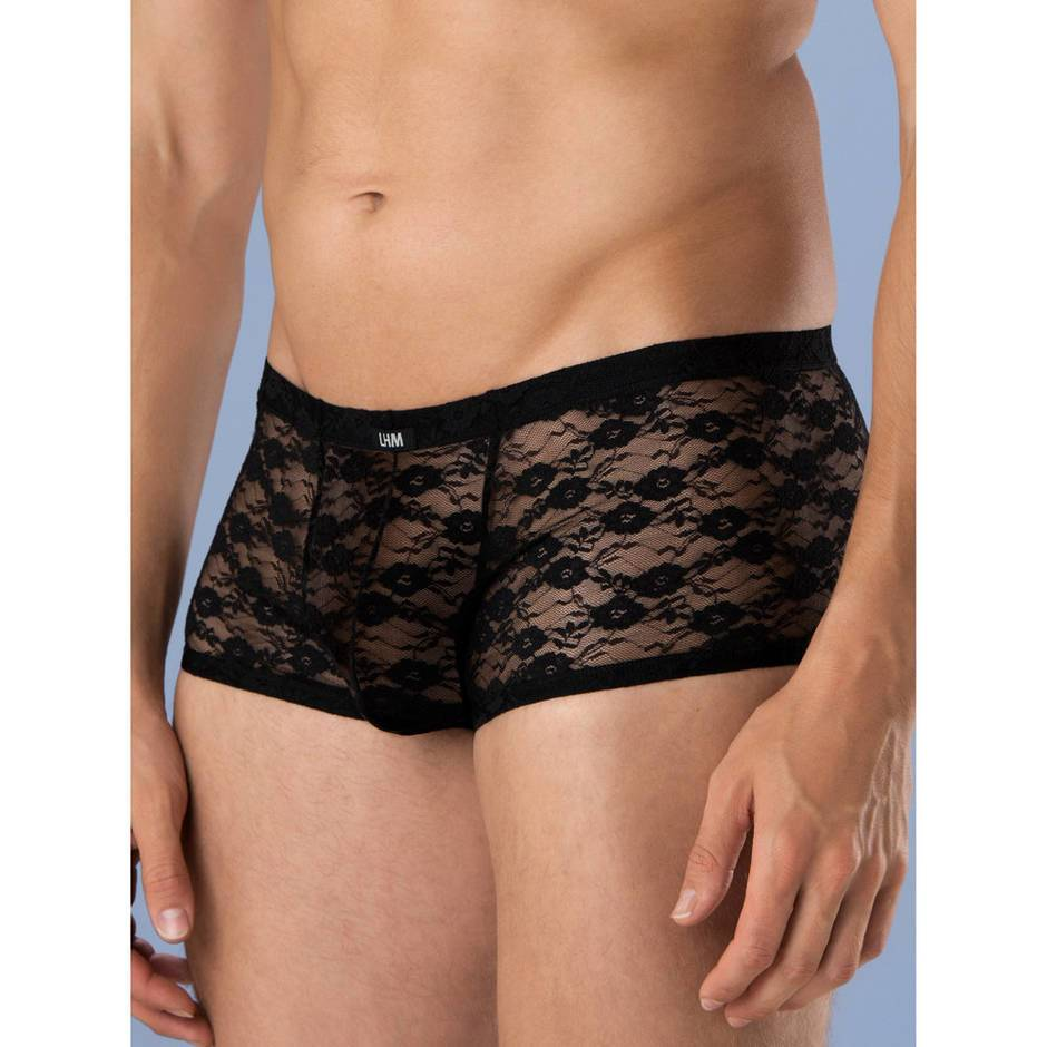 LHM All Over Lace Boxer Shorts