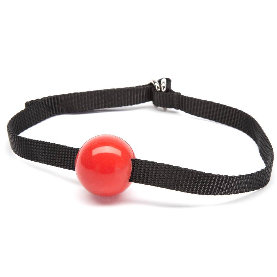 Bondage Boutique Beginners Silicone Small Ball Gag