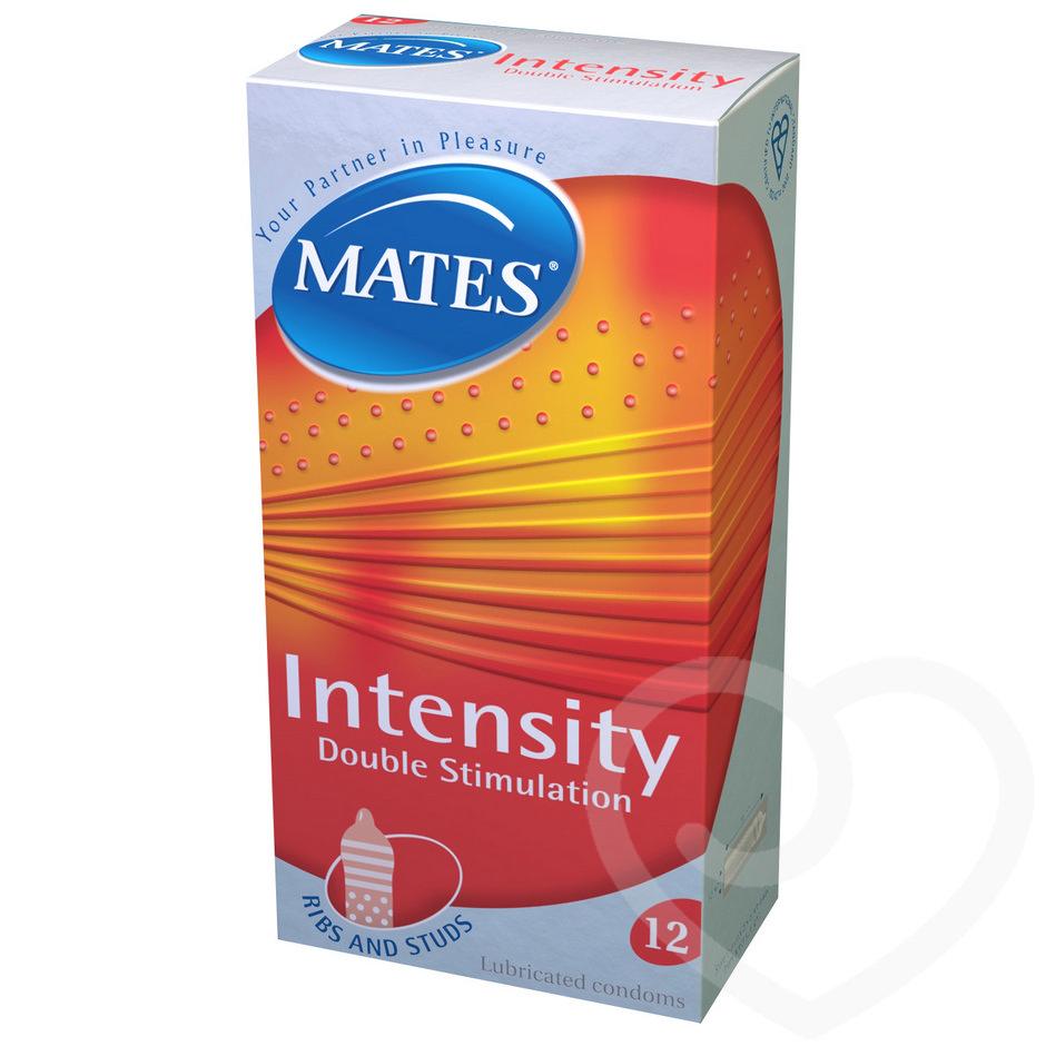Mates Intensity Condoms (12 Pack)