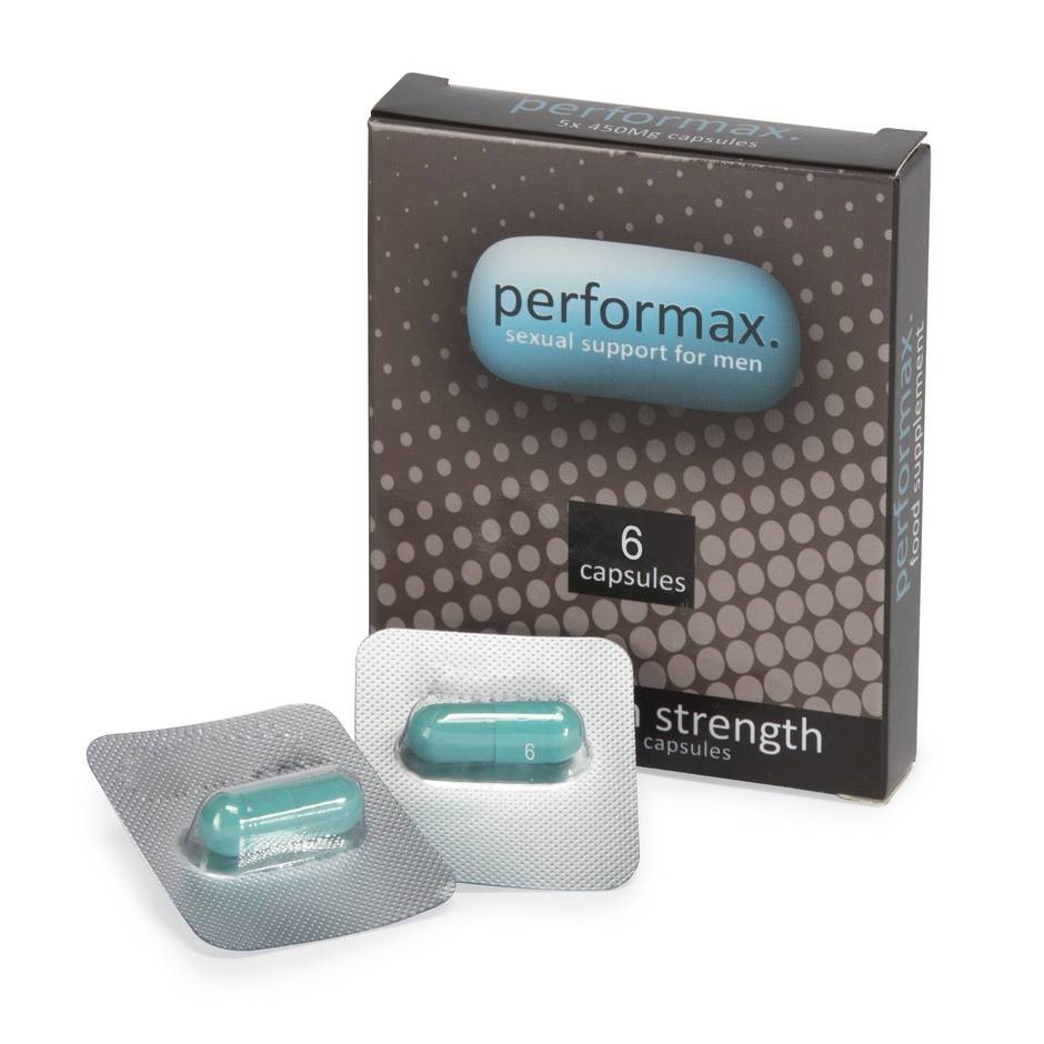 Performax Sexual Performance Pills for Men (6 Capsules)