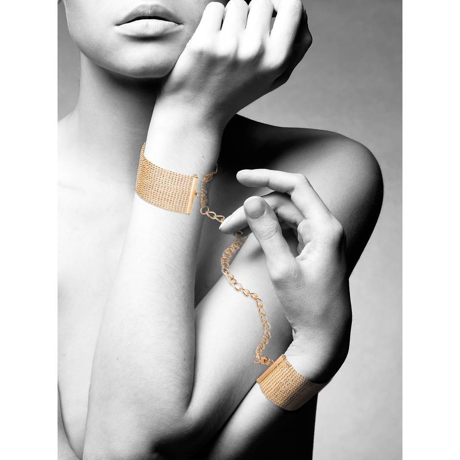 Bijoux Indiscrets The Magnifique Collection Gold Bracelet HandcuffsBijoux The Ma