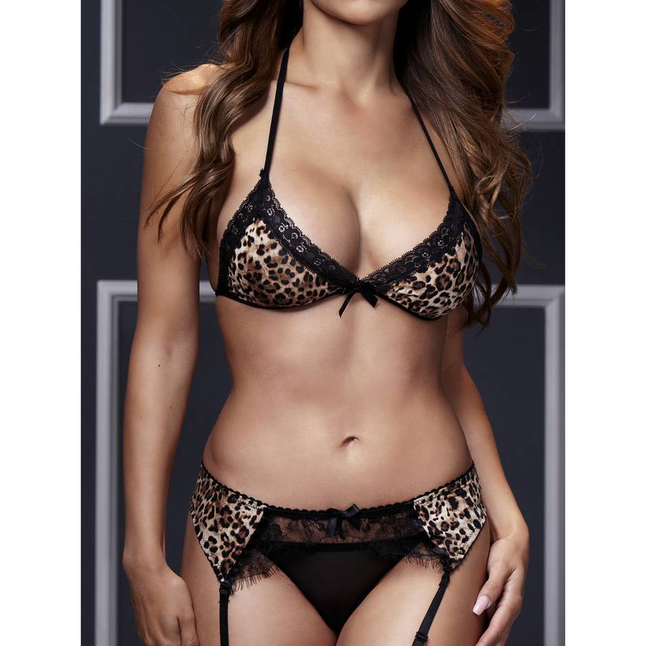 Online shopping for popular & hot Leopard Bra Set from Women's Clothing & Accessories, Bra & Brief Sets, Bras, Breast Petals and more related Leopard Bra Set like plant blouse, colour sweater, pooh bear phone case, short pineapple. Discover over of .
