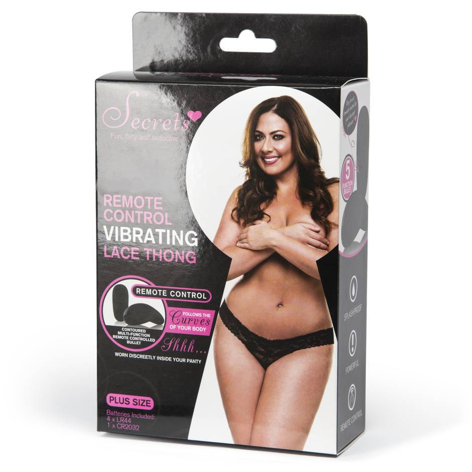 The butterfly vibrator thong