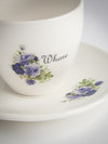 Outlandish Creations 'Whore' Teacup and Saucer
