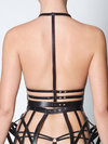 Chromat Leather Kimono Harness