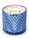 D.L. & Co Mercury Diamond Jar Candle - Blue Sapphire