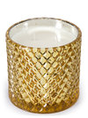 D.L. & Co Mercury Diamond Jar Candle - Golden Citrine