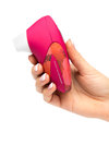 Womanizer W500 USB Rechargeable Clitoral Stimulator Red Rose