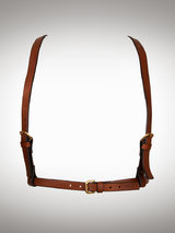 FLEET Ilya Men's Brown Leather Bondage Harness