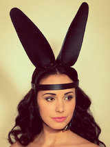 FLEET Ilya Leather Bunny Ears Head Harness
