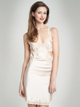 Stella McCartney Clara Whispering Silk Chemise Summer