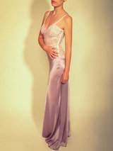Jenny Packham Elegant Long Silk Slip