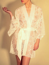 Jenny Packham Lace Kimono Robe