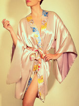 Jenny Packham Secret Garden Silk Robe