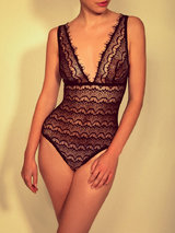 Mimi Holliday Bisou Bisou Pearl Lace Body