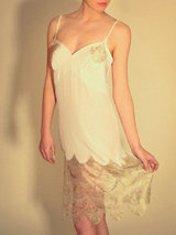 Shell Belle Great Gatsby Silk Slip
