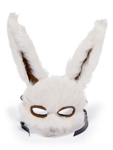 Recycled Vintage Fur Rabbit Mask