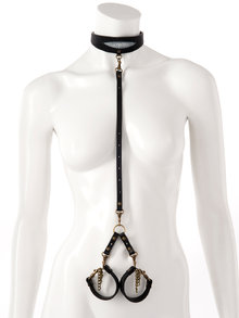 Paul Seville Stingray Choker Collar and Cuffs