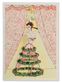 Andrea Kett Holly Day Christmas Card