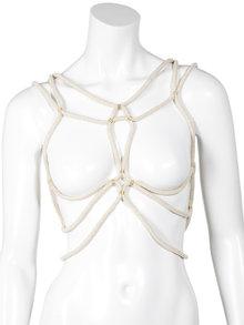 DSTM Shibari Harness Ivory