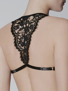 I.D. Sarrieri Triangle Bra Black