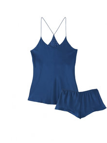 Bella Atlantic Camisole and French Knicker Set