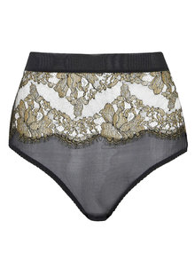 Coco de Mer Ranelagh High Waisted Brazilian Knicker