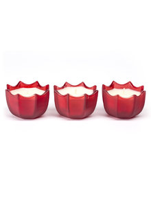 D.L. & Co Scarlett Letter Scallop Gift Set of 3
